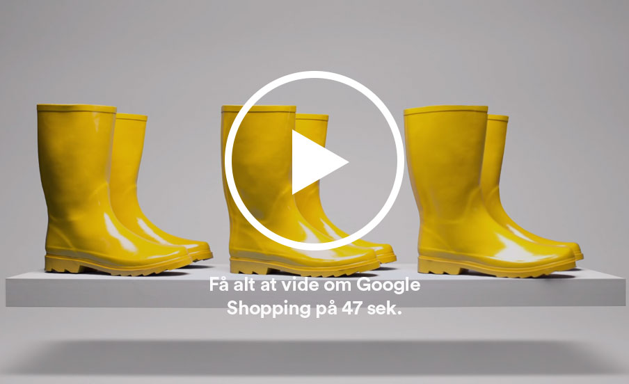 google shopping video