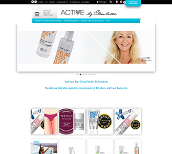 Active by Charlotte - Scannet webshop reference