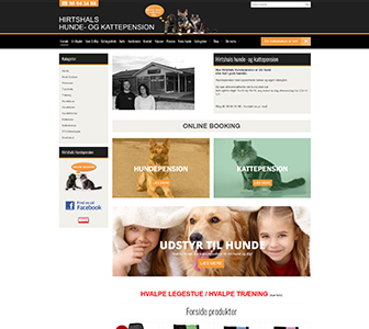 Hirtshalts Hundepension - Scannet webshop reference