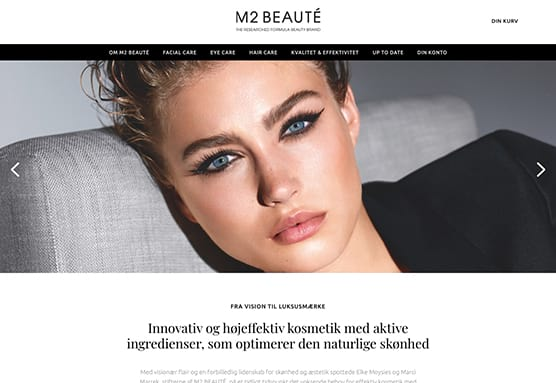 Decato partnerdesign - M2 Beaute