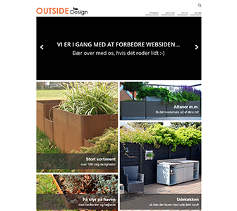 Outside - Scannet webshop reference