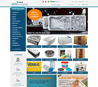 Spacentret - Scannet webshop reference